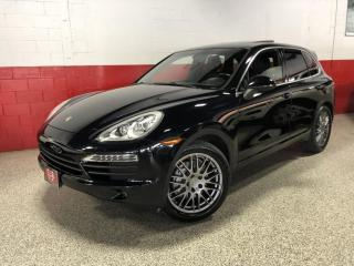 Used 2013 Porsche Cayenne S NAVI CAMERA PANO-ROOF PADDLE SHIFTERS for sale in North York, ON