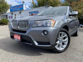 Used 2014 BMW X3 AWD 4dr 28i ACCIDENT FREE, ARE U READY FOR WINTER for sale in Brampton, ON