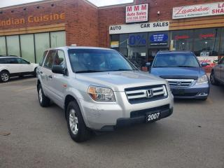 Used 2007 Honda Pilot 4WD 4DR LX for sale in Scarborough, ON