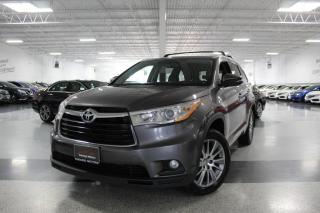 Used 2015 Toyota Highlander XLE AWD NO ACCIDENTS I NAV I LEATHER I R. CAM I SUNROOF I BT for sale in Mississauga, ON