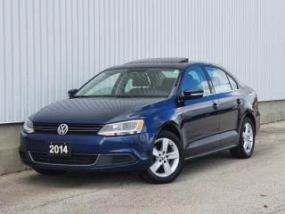 Used 2014 Volkswagen Jetta 1.8 TSI Comfortline|Sunroof|Alloys for sale in Mississauga, ON
