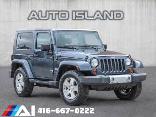 Used 2008 Jeep Wrangler 4WD 2DR SAHARA for sale in North York, ON