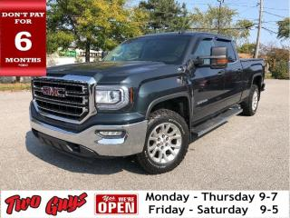 Used 2017 GMC Sierra 1500 SLE | Crew 5.3L 4x4 | Max Tow Pkg | 6 Pass for sale in St Catharines, ON