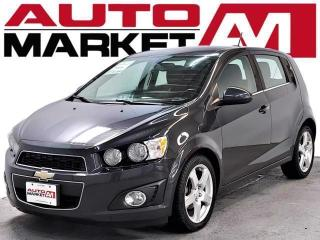 Used 2015 Chevrolet Sonic LT Certified! Sunroof! We Approve All Credit! for sale in Guelph, ON