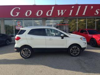 Used 2019 Ford EcoSport TITANIUM! CLEAN CARAFAX! BLIND SPOT! NAV! B/T! for sale in Aylmer, ON