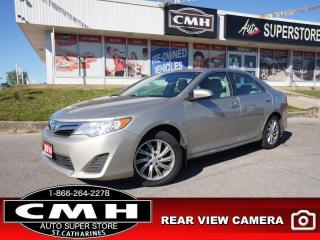 Used 2014 Toyota Camry LE  CAM ROOF BT PWR-GROUP ALLOYS for sale in St. Catharines, ON