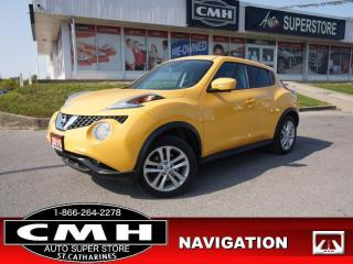 Used 2015 Nissan Juke SV  AWD NAV CAM ROOF LEATH HTD-SEATS for sale in St. Catharines, ON