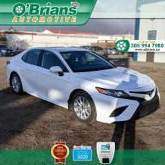 Used 2019 Toyota Camry SE w/Mfg Warranty. Leather, Adaptive Cruise, Backup Camera, Heated Seats for sale in Saskatoon, SK