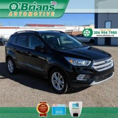 Used 2018 Ford Escape SEL - Accident Free! w/Mfg Warranty, 4WD, Leather, Heated Seats, for sale in Saskatoon, SK