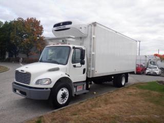Used 2013 Freightliner M2106 22 Foot Reefer Cube Van Diesel With Air Brakes for sale in Burnaby, BC