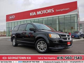 Used 2013 Dodge Grand Caravan SXT | BLUETOOTH | B/U CAM | DVD | FULL STOW'N GO for sale in Georgetown, ON