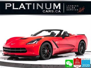 Used 2015 Chevrolet Corvette STINGRAY Z51 3LT, CONVERTIBLE, MANUAL, NAV, HUD for sale in Toronto, ON