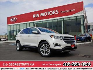 Used 2016 Ford Edge SEL | AWD | LTHR | NAVI | PANO ROOF | 75,574 KM | for sale in Georgetown, ON