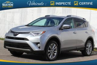 Used 2016 Toyota RAV4 Limited AWD NAVIGATION TOIT OUVRANT for sale in Ste-Rose, QC