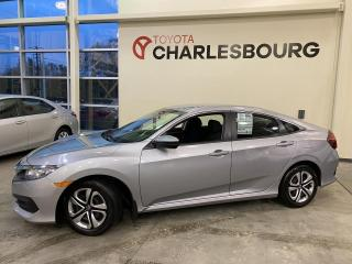 Used 2017 Honda Civic LX - Automatique - Sièges chauffants for sale in Québec, QC