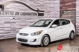 Used 2016 Hyundai Accent GL+AIR+GR/ELEC+SIEGE/CHAUFF+BLUETOOTH for sale in Laval, QC