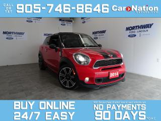 Used 2014 MINI Cooper Paceman S | JOHN WORKS PKG | AWD | ROOF | 6 SPEED M/T for sale in Brantford, ON