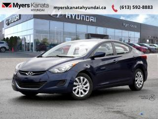 Used 2013 Hyundai Elantra GL  - $55 B/W for sale in Kanata, ON