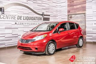 Used 2014 Nissan Versa Note SV+AIR+CAM/RECUL+GR/ELECT+BLUETHOOT for sale in Laval, QC