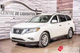 Used 2016 Nissan Pathfinder SV+AWD+CAM/RECUL+SIEGE/CH+VOLANT/CHAUFF+7PASSAGERS for sale in Laval, QC