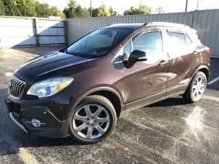 Used 2016 Buick Encore Premium AWD for sale in Cayuga, ON