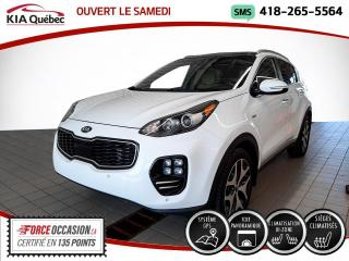 Used 2017 Kia Sportage SX* TURBO* AWD* GPS* CUIR* TOIT PANO* for sale in Québec, QC
