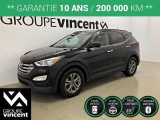 Used 2015 Hyundai Santa Fe SPORT 2.0T PREMIUM AWD ** GARANTIE 10 ANS ** VUS confortable et logeable! for sale in Shawinigan, QC