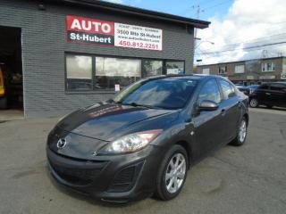 Used 2010 Mazda MAZDA3 GX**A/C**BLUETOOTH** for sale in St-Hubert, QC