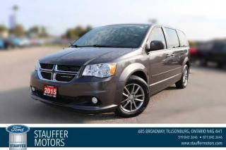 Used 2015 Dodge Grand Caravan SXT Premium Plus for sale in Tillsonburg, ON