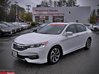 Used 2017 Honda Accord SEDAN EXL for sale in Port Moody, BC