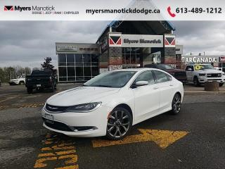 Used 2015 Chrysler 200 C   -Heated Seats + Steering-Sunroof for sale in Ottawa, ON