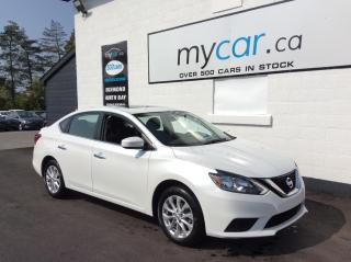 Used 2019 Nissan Sentra 1.8 SV SUNROOF, HEATED SEATS, ALLOYS, BACKUP CAM!! for sale in North Bay, ON