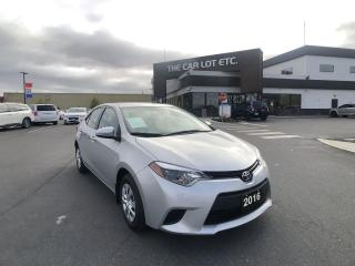 Used 2016 Toyota Corolla CE LOW LOW LOW KMS MANUAL TRANSMISSION!!!!!! for sale in Sudbury, ON