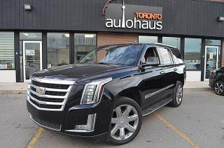 Used 2018 Cadillac Escalade Premium Brown Leather/NAVI/BSM/Very Clean for sale in Concord, ON