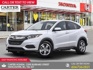 New 2020 Honda HR-V LX for sale in Vancouver, BC