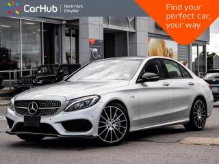 Used 2017 Mercedes-Benz C-Class AMG C 43 Panoramic Roof Burmester Audio for sale in Thornhill, ON