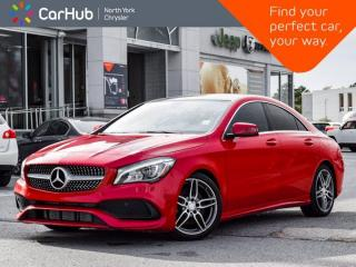 Used 2018 Mercedes-Benz CLA-Class CLA 250 4MATIC Sunroof Ambient Lights Apple CarPlay Capable for sale in Thornhill, ON