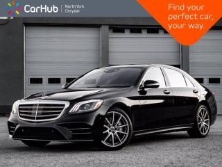 Used 2020 Mercedes-Benz S-Class S 560 4MATIC LWB Burmester Panoramic Roof for sale in Thornhill, ON