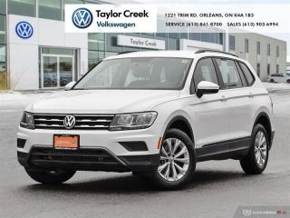 Used 2020 Volkswagen Tiguan Trendline 2.0 8sp at w/Tip 4M for sale in Orleans, ON