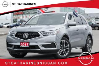 Used 2017 Acura MDX Navigation Package Navi | Roof | Leather | 1 owner for sale in St. Catharines, ON