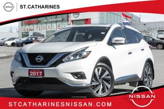 Used 2017 Nissan Murano Platinum Lease Return | Navi | Leather | Pan Roof for sale in St. Catharines, ON