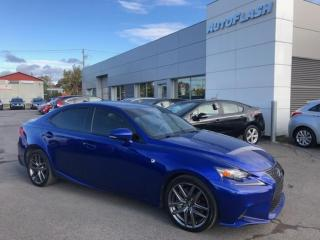 Used 2016 Lexus IS 300 IS300 *F-SPORT *F2 *AWD *CAMERA *GPS *TOIT/SUNROOF for sale in St-Hubert, QC