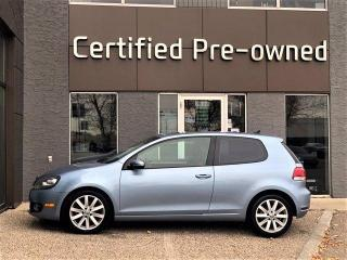 Used 2010 Volkswagen Golf 2.5L w/ SUNROOF / LOW KMS / 5 SPEED for sale in Calgary, AB