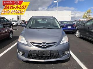 Used 2010 Mazda MAZDA5 GS AS-IS - ONE OWNER for sale in Stouffville, ON