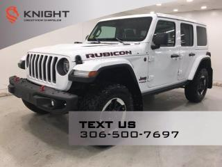 New 2021 Jeep Wrangler Rubicon Unlimited | EcoDiesel | Leather | Navigation | for sale in Regina, SK