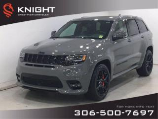 New 2020 Jeep Grand Cherokee SRT 6.4L Hemi | Sunroof | Navigation | for sale in Regina, SK