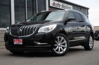 Used 2017 Buick Enclave Premium 7 PASSENGER BACK UP CAM DUAL SUNROOF ++ for sale in Chatham, ON