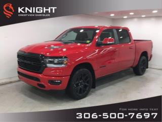 New 2021 RAM 1500 Sport Crew Cab Night Edition   Leather   Sunroof   Navigation   for sale in Regina, SK