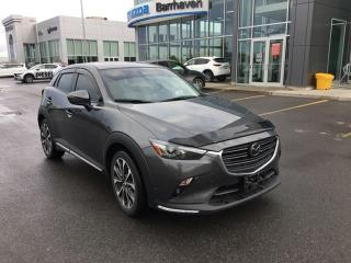 Used 2019 Mazda CX-3 *** DEAL INCLUDES WINTER TIRES AND RIMS/REMOTE STARTER*** GT **LEATHER/NAV/AUTO STARTER** for sale in Ottawa, ON