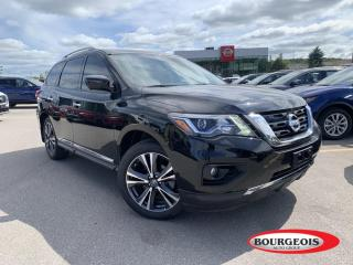 Used 2020 Nissan Pathfinder Platinum *CPO* LEATHER, NAVIGATION, MOONROOF for sale in Midland, ON